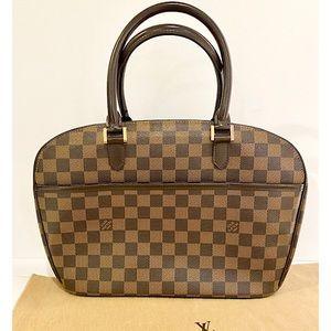 Authentic Louis Vuitton Sarria Horizontal Bag